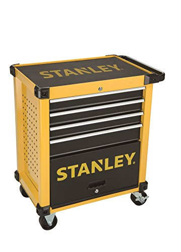 Stanley FatMax Werkstattwagen/Werkzeugwagen, Transmodul-System (mit 7 Schubladen, 2 Schlüsseln, bis...