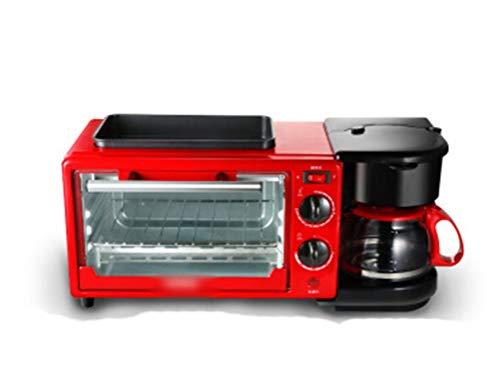 QPSGB Ofen-Toaster-Multifunktions-elektrischer Ofen-Ausgangsfrühstück-Ofen Ofen-Kaffeemaschinen-Bratmaschine gebratene Röstmaschine - Backöfen (Ofen Toaster Kaffeemaschine Mit)