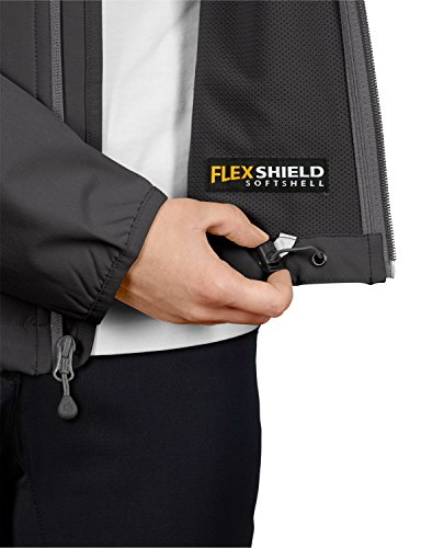 Jack wolfskin veste softshell flex motion jacket w Dark Steel
