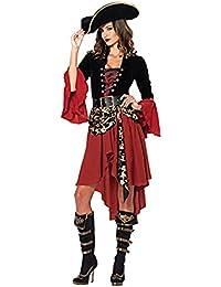LifeWheel da donna sexy affascinante costume da Halloween pirata adulto  uniformi Tentazione 1e9f7865e08