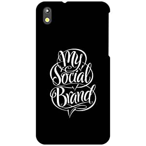 HTC Desire 816 Back Cover - My Social Brand Designer Cases