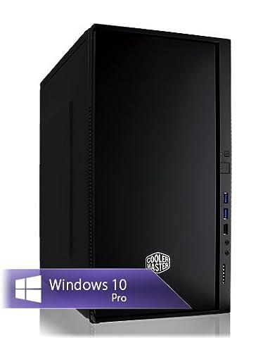 Ankermann-PC PuissanceSilencieuse, Intel i5 7500 4x3,40GHz, MSI GeForce GT 710 2GB, 8GB RAM, 240GB SSD, be quiet! System Power B8 300W, Microsoft Windows 10 Professional, Cardreader 7in1, EAN 4260219658157