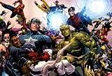 Spiderman Captain America Marvel Comics patriotique Sentry Mouse Pad, Mousepad (25,9x 21,1x 0,3cm)