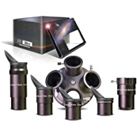 Baader Planetarium Q-Turret Okularsatz inkl. Okularen, Okularrevolver, Barlow