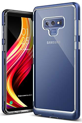 Caseology Galaxy Note 9 Hülle, [Skyfall Serie] Transparente Klare Schlanke Kratzfeste Schutzhülle [Navy Blau - Navy Blue] für Samsung Galaxy Note 9 (2018)
