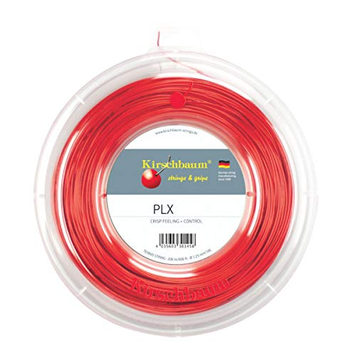 Kirschbaum PLX Corda Per Racchetta Da Tennis, 200 m, colore rosso