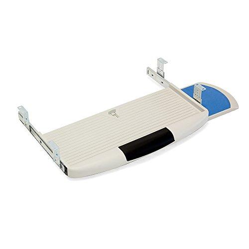 Emuca 3196621 Soporte portateclado extraíble bandeja