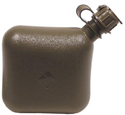 US Feldflasche, eckig, oliv, 633236