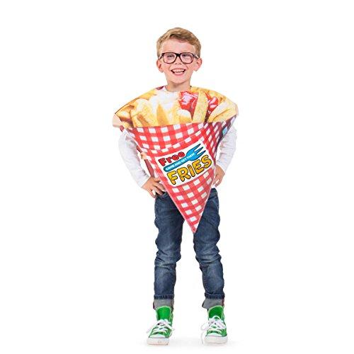 Pommes Kostüm Für Erwachsene - Folat 21911 Pommes Tüte Kostüm Kind,