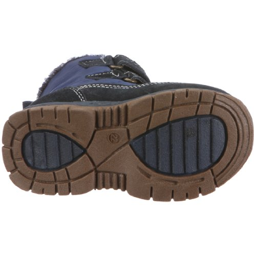 Maxi & Doni 125504.401 Schuh, Unisex - Kinder Halbschuhe Blau (Blau/Braun)