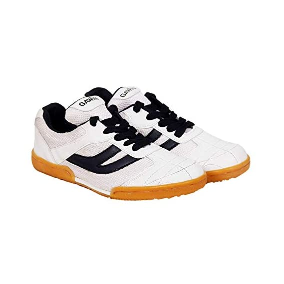 Gawin Cup-Sole Badminton, Volleyball, Basketball Indoor & Outdoor Shoe White.