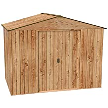 Caseta metálica Artemisa de Duramax, *Imitación madera de máxima ...