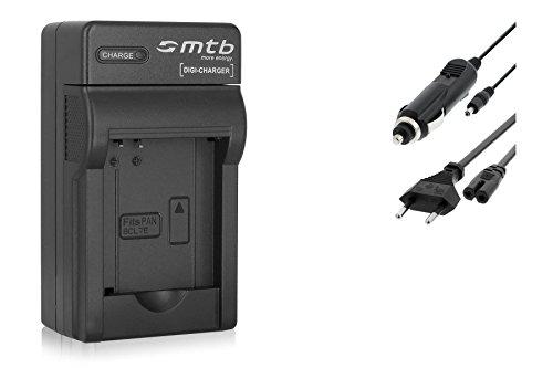 Ladegerät DMW-BCL7 BCL7E für Panasonic Lumix DMC-F5, FH10, FS50, SZ3, SZ8, SZ9, SZ10, XS1, XS3