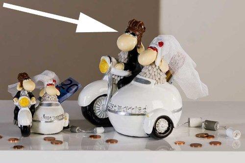 Spardose Brautpaar Hochzeitswagen für Geldgeschenke