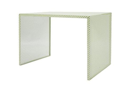 Tosel Zarina 1 Table Basse, Acier, Vert, 48 x 40 x 40 cm