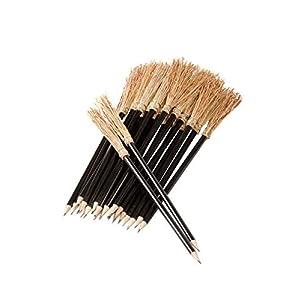 Mendi 25 Lapiceros con Escoba 26 cm Color Negro. 17