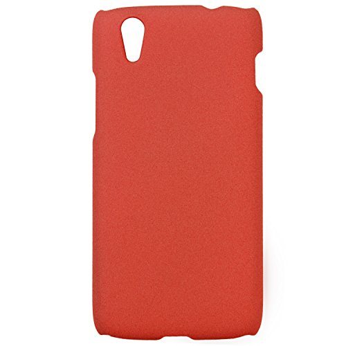 Heartly QuickSand Matte Finish Hybrid Flip Thin Hard Bumper Back Case Cover For Lenovo Vibe X S960 - Soft Orange  available at amazon for Rs.199