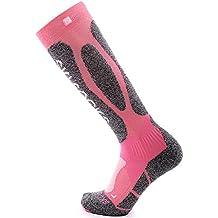Zilee Calcetines Mujer Compresion Medias Termicos Largos Calcetines para Invierno Deportivos Esquí Ciclismo Trekking Running Futbol