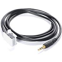 XCSOURCE® AUX IN Radio Adapter Kabel für VW RCD 210 310 510 Golf Passat AC224