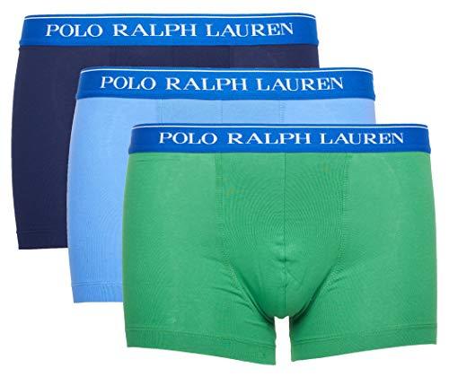 Polo Ralph Lauren Herren Boxershorts 3er Pack Classic Trunk (M, Mehrfarbig (Miscellaneous 031))