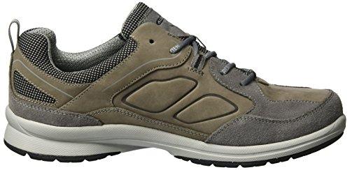Allrounder by Mephisto Caletto, Chaussures de Randonnée Hautes Homme Grau (Ash/Ash)