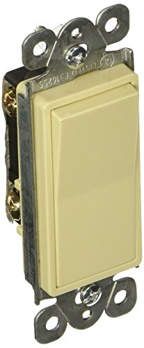 Morris 82080 Commercial Grade Decorative Switch, Single Pole, 20 Amp Current, 277V, Ivory by Morris