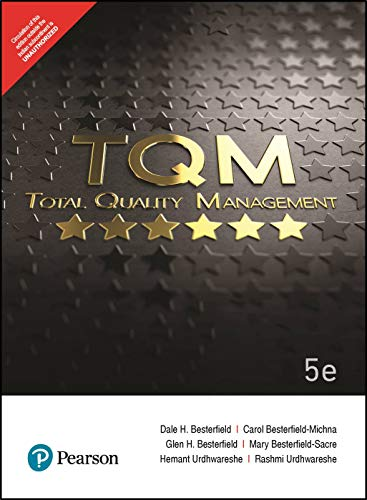 Total Quality Management (TQM)  5e by Pearson