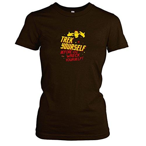 TEXLAB - Trek Yourself - Damen T-Shirt Braun