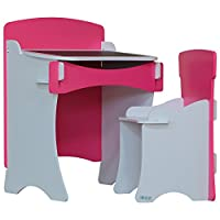 Kidsaw Blush Desk and Chair for 18 Months (Pink)