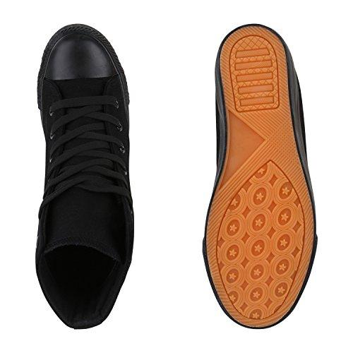 Stivali Paradiso Sneakers Tessuto Sneaker Zeppe Fiori Camouflage Sneaker Zeppa Dettagli Sul Tallone Scarpe Zipper Denim Flandell Nero Totale