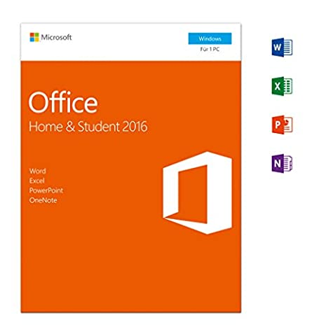 Microsoft Office Home and Student 2016 [PC Online Code]