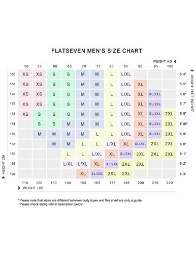 FLATSEVEN -  Blazer  - Maniche lunghe  - Uomo Nero