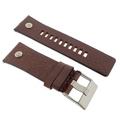 Diesel Reloj banda correa intercambiable Lb de dz7314Original para banda DZ 7314Reloj de pulsera piel 28mm marrón