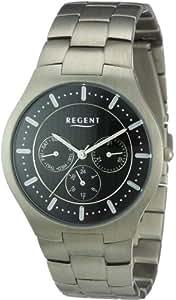 Regent Herren-Armbanduhr XL Analog Titan 11090277