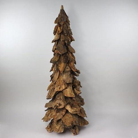 Árbol de Navidad con forma de árbol de Navidad de la decoración para el árbol de Navidad de madera, de madera, 120 cm