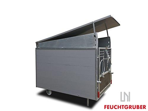 Kalb Box (Kälberbox mit Dach, Box für Kälber, Kälberhütte, Kälberhaus, Kälber, Kalb)