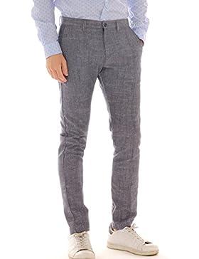 Pantalón chino Hombre de mezcla lino