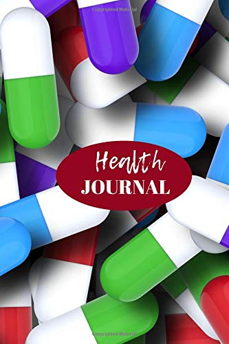 Health Journal: Tracker Notebook Book Journal to