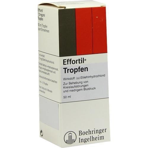 Preisvergleich Produktbild EFFORTIL Tropfen 50 ml