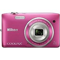 Nikon Coolpix S3500 Fotocamera Digitale, 20 Megapixel,
