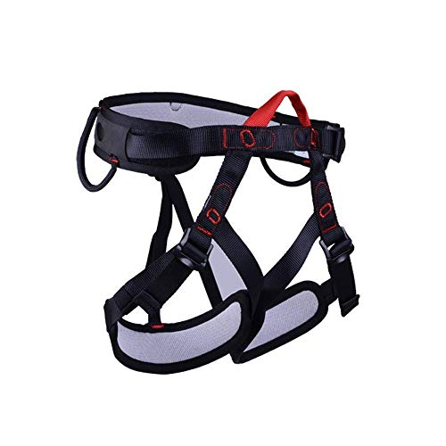 YDXYZ Klettergurt Ausrüstung for Klettergurte for Männer Frauen Schützen Sie die Sicherheit der Taille for die Brandrettung Abseilhöhle, um den Ganzkörpersicherheitsgurt zu schützen (Klettergurt Männer Für)