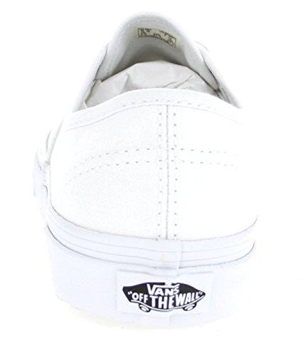 Vans Unisex-Erwachsene Authentic Sneakers Weiß