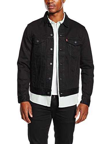 levis-herren-jacke-the-trucker-jacket-schwarz-berkman-144-medium