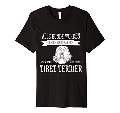 Alle gleich Tibet Terrier Hund Tshirt-Damen Herren Geschenk - Terrier-damen T-shirt