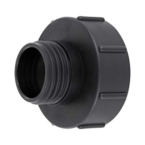 REKUBIK IBC Adapter S100x8 - S60x6 Außengewinde Reduzierung