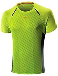 Mizuno DryLite Premium Manche Courtes Course à Pied T-Shirt - SS15