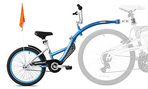 WeeRide Pro Pilot Remorque pour vélo En aluminium Bleu