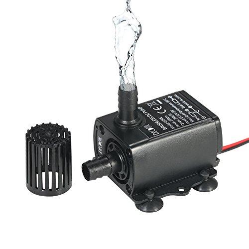Flüsterleiser Mini DC12V Micro Brushless Wasserölpumpe Tauch 240L / H 5W Fahrstuhl 3M