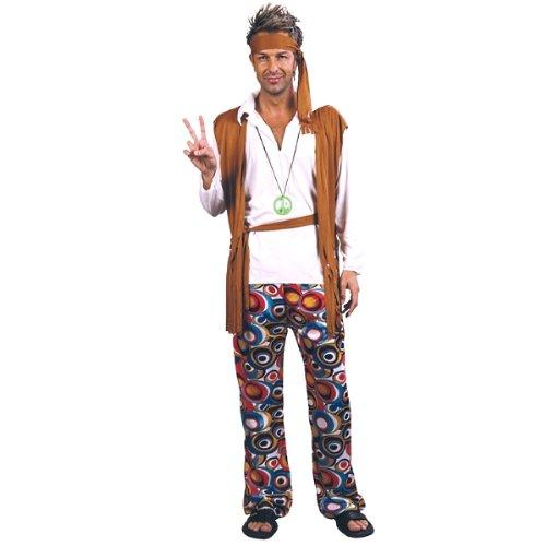 Boland 87175 - Kostüm Hippie, Einheitsgröße 48-54