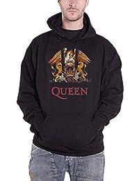 Amazon Fr Queen Sweats A Capuche Imprimes Musique Vetements